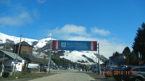 Catedral Alta Patagonis: Chegada