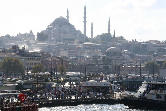 Second Home Hostel: Hostel is short distance to the Galata Bridge and plenty of other landmarks/sights