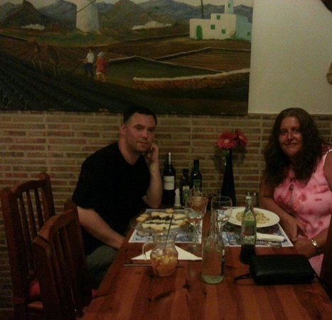 Restaurante La Chalana: Thank you to the efficient, friendly staff for a really lovely meal.