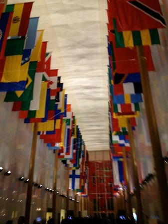 John F. Kennedy Center for the Performing Arts: Hall of Flags within JFK Center