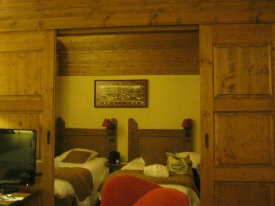 La chambre en bois picture of pierre vacances premium for Camping le bois joli la chambre