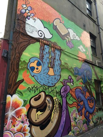 North Laine : Murals that liven up the area even more
