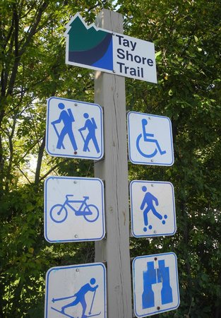 Victoria Harbour, Canada: Tay Shore signage
