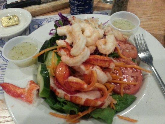 Lenny And Joe S Fish Tale Wonderful Seafood Salad Lots Of Lobster Tail