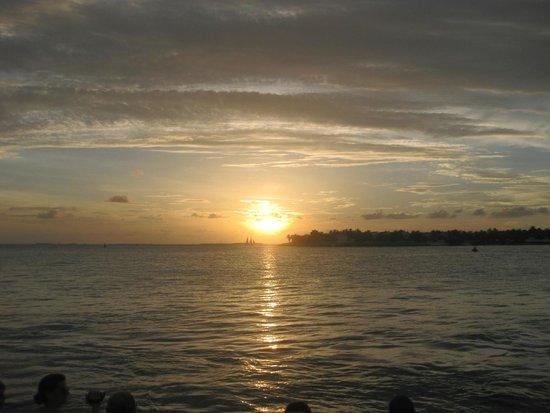 Alexander Palms Court : Pôr do Sol espetacular em Key West