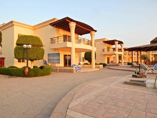 Helnan Aswan Hotel : vista del bungalow