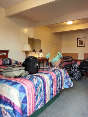 Siesta Inn Motel: Room with 2 twins and full size bed