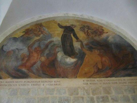Franciscan Monastery: referência a São Francisco
