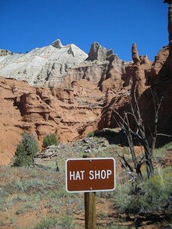 0de888299da The Hat Shop - Picture of Kodachrome Basin State Park