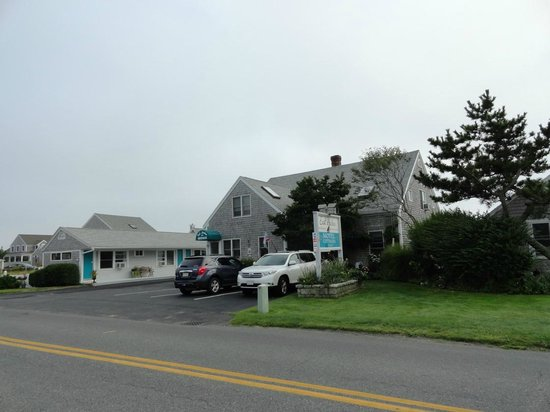 East Harbour: The main lobby and motel area.