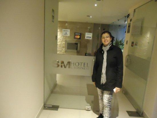 SM Hotel & Business: ENTRADA DO HOTEL