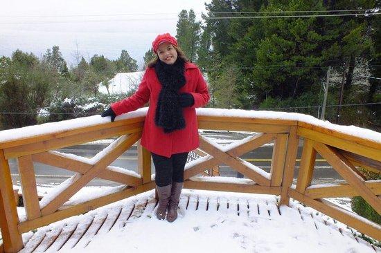 Bungalows Buena Vista : Neve é simplesmente mágico!