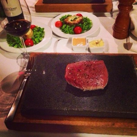 The Club Yerevan : Stone steak was amazing