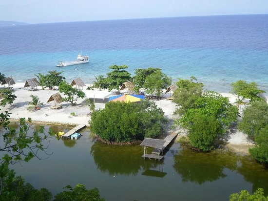 Bluewater Sumilon Island Resort: view from above while trekking
