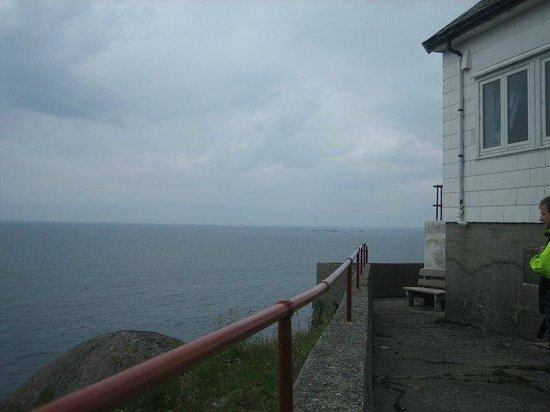 Flora Municipality, Norveç: View over the sea from the lighthouse.
