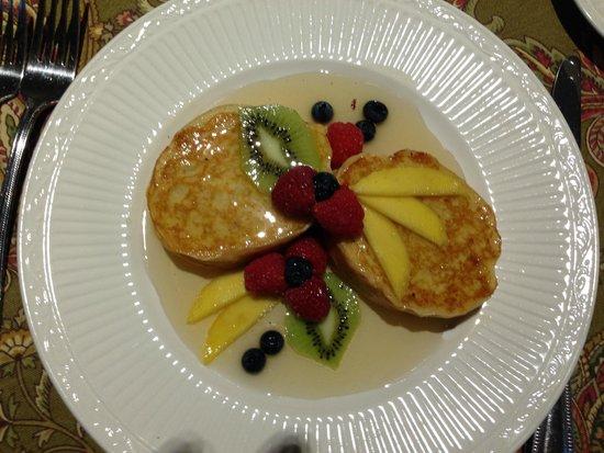 Addison, PA: One of many beauatiful, gourmet breakfasts