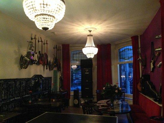 BackStage Hotel Amsterdam: Bar area