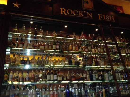 "Rock'N Fish : ""Small"" selection of liqueur"