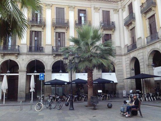 Foto na sala do caf da manh picture of roma reial - Hotel reial barcelona ...