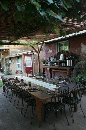 Cali Cochitta Bed & Breakfast: Breakfsast area