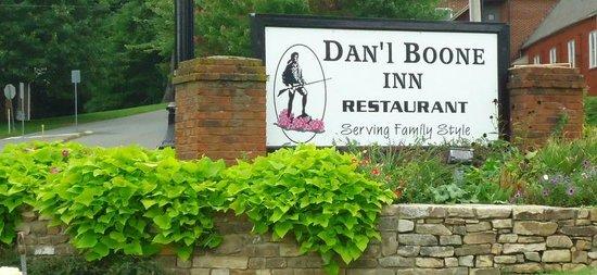 Dan'l Boone Inn Restaurant: Dan'l Boone Inn