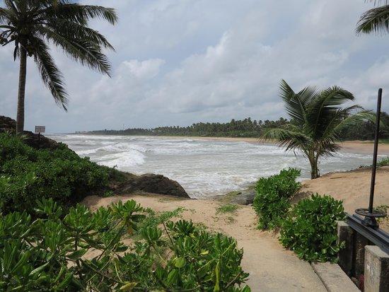 Saman Villas: View from villa
