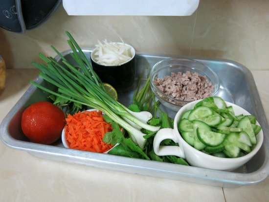 Thai Cooking Classes : some of the fresh ingredients