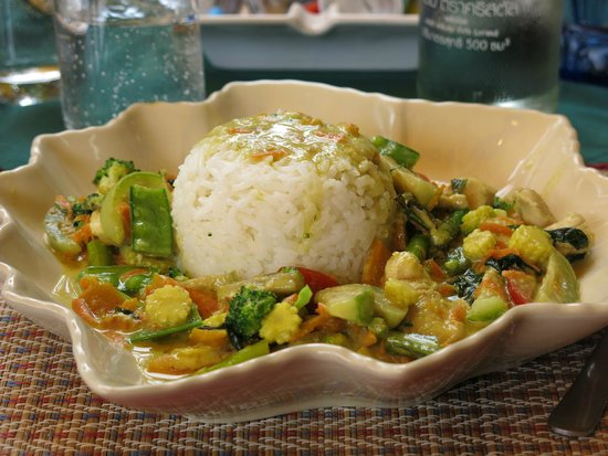 Thai Cooking Classes: green curry with chicken