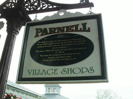 Parnell : Cartel