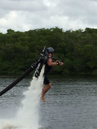 Captain CJ's JetPack Adventures: We have lift off
