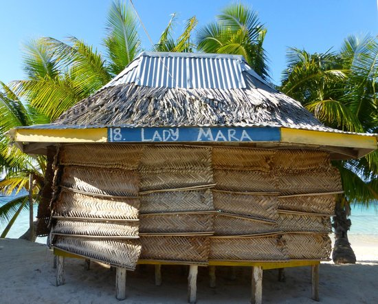 Tanu Beach Fales : Beach Fale #18 - Lady Mara