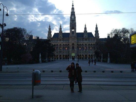 Rathausplatz: 市庁舎前広場