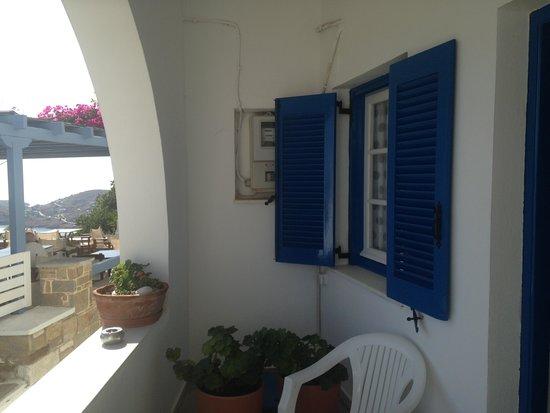Francesco's: Our balcony