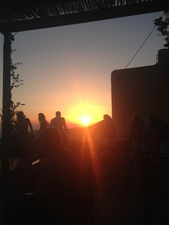 Francesco's: Sunset from the Common Area
