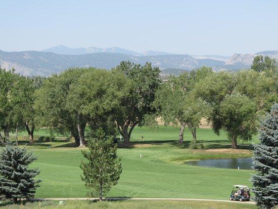 Mariana Butte Golf Course: Second Fairway Mountain View