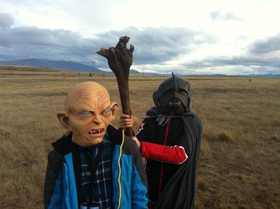 Lord of the Rings Twizel Tour: take that Gollum!