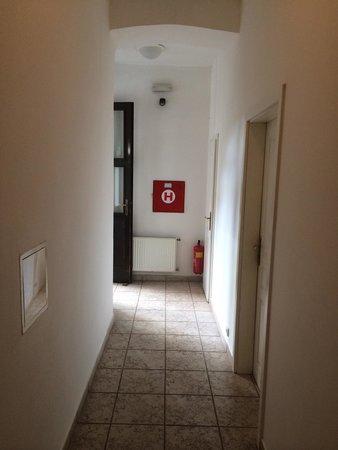 Hotel Amadeus: The corridor