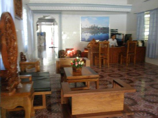 Angkor Honey Villa: Lobby