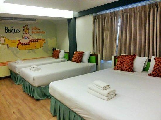 My Way Hua Hin Music Hotel: ห้อง  The Beatles นอนได้ 4 คน