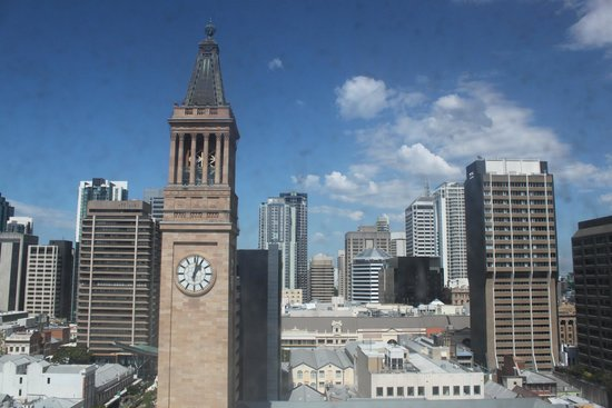Mercure Brisbane King George Square: View from the window.. City Hall