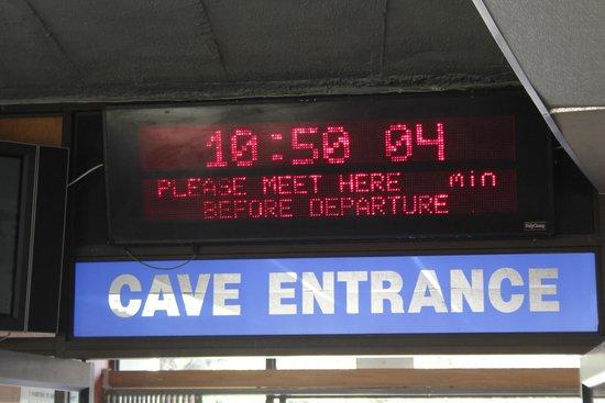 The Cango Caves: Gleich geht's los