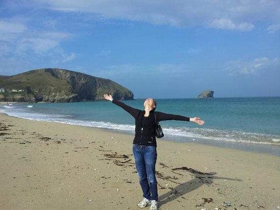 The Copper House - Portreath: Portreath beach a 8 minute walk away