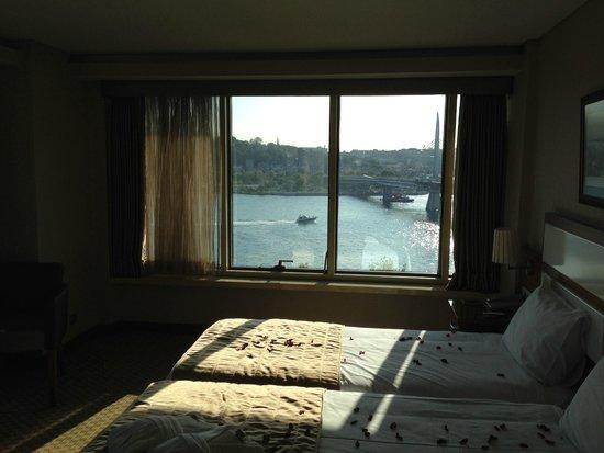 Istanbul Golden City Hotel : вид из окна