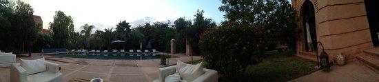 Palmeraie, โมร็อกโก: the pool area