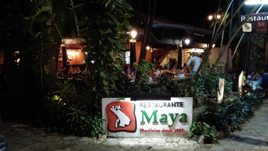 Restaurant Maya Cañada : Ресторан
