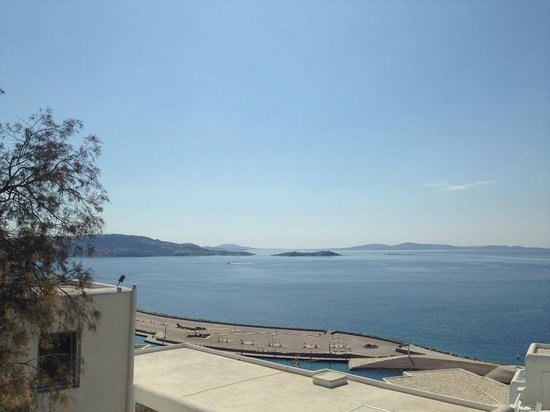 Hotel Gorgona: view from the balcony