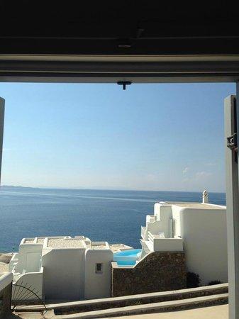 Hotel Gorgona : view from room window