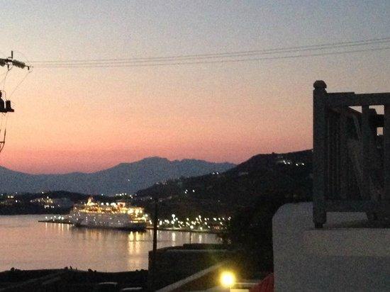 Hotel Gorgona: view at night