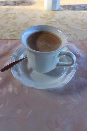 Aloha Guest House: Kona coffee in the morning from the plantation!