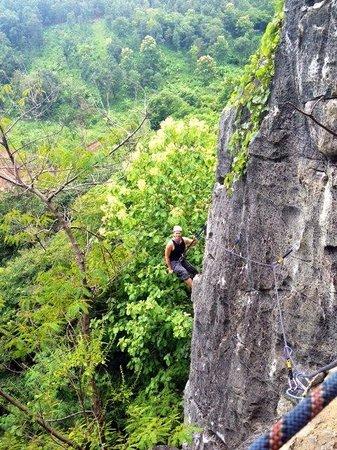 Chiang Mai Rock Climbing Adventures: Climbing Shot